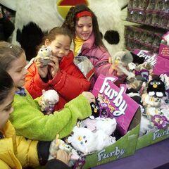Furby Buddies Display At FAO Schwarz