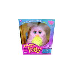 Funky Furby Pink and Yellow