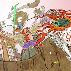 <i>Ōkami</i> wallpaper