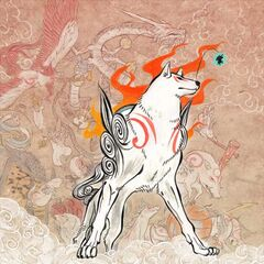 Amaterasu with the Celestial Brush Gods.