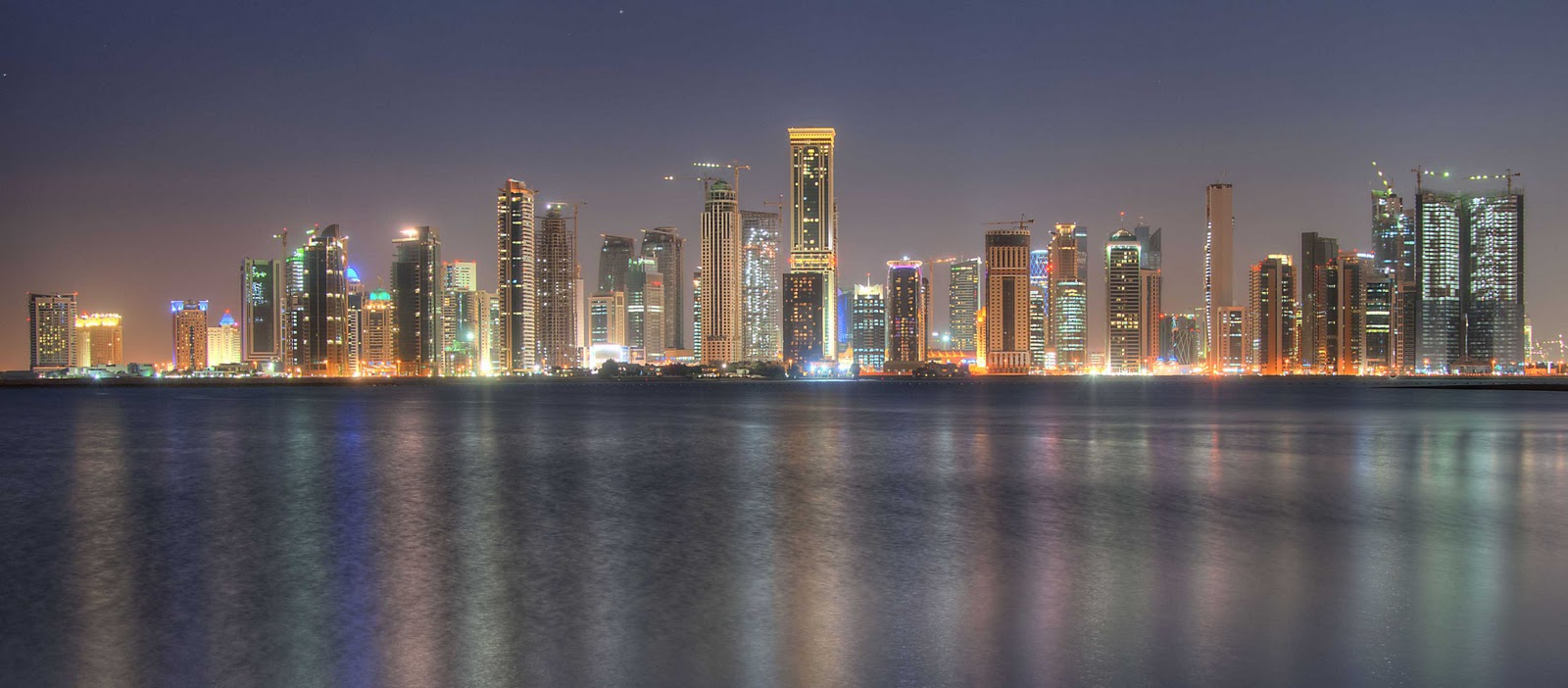 Image doha qatar skyline 1 jpg riordan wiki fandom powered by