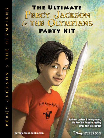 The Ultimate Percy Jackson & the Olympians Party Kit ...