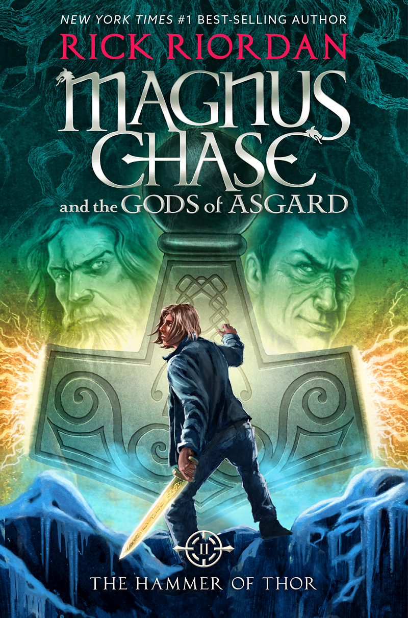 Image result for rick riordan the hammer of thor