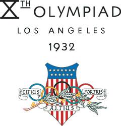 1932 Summer Olympics logo