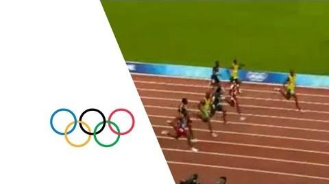 Usain Bolt Breaks 100m World Record In 9.69 Seconds - Beijing 2008 Olympics