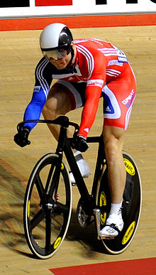 Chris Hoy Action