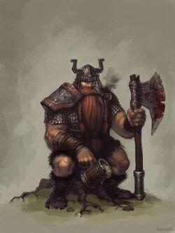 Midkemia dwarf large