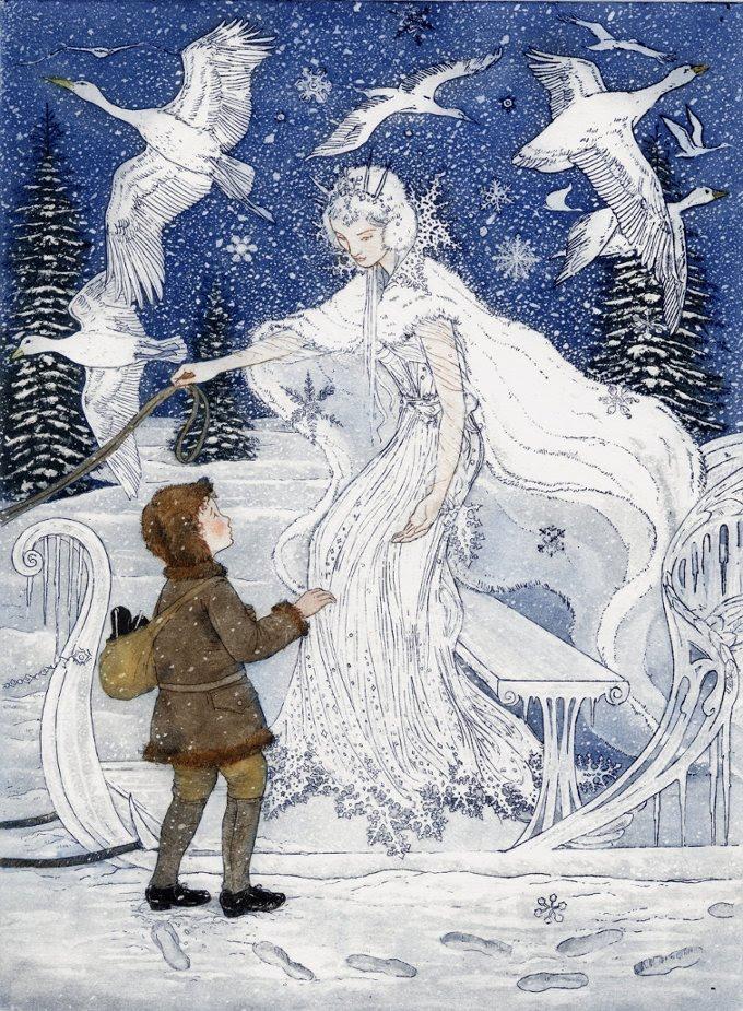 Beautiful Snow Queen Stock Photo 164042525 - Shutterstock