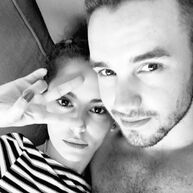 Liam-cheryl selfie