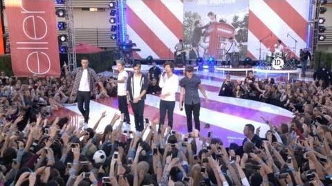 The Ellen DeGeneres Show - Live While We're Young