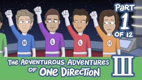 The Adventurous Adventures of One Direction 3 Part 1-0