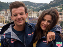 Louis and Danielle in May 2016