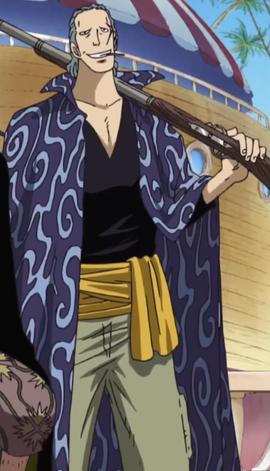 Benn Beckman en el anime