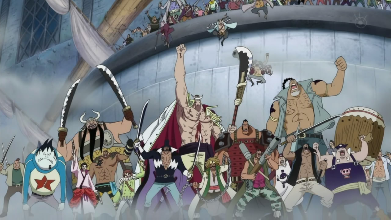 Kurama(Naruto) vs Whitebeard and his army(One piece ...