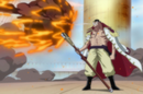 Whitebeard Extinguishing A Fireball