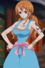 Nami's Second Outfit in Totto Land