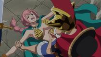 Luffy Pins Down Rebecca