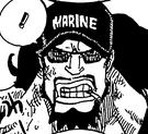 Maynard's Marine Cap in the Manga.png
