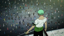 Zoro vs. 100 Bounty Hunters