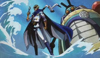 Sora, Warrior of the Sea