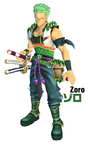 Zoro One Piece Unlimited Cruise Outfit