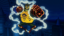 Film Gold Gear 4th Luffy
