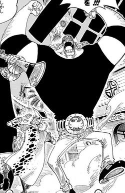 Jesus Burgess Manga Pre Timeskip Infobox