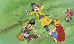 Chopper, Luffy, and Usopp Meet Tonjit.png