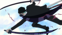 Zoro Using Busoshoku Haki