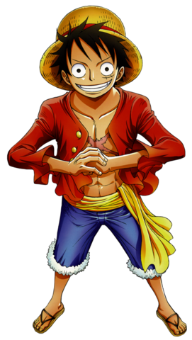 File:Luffy Post Timeskip Render.png