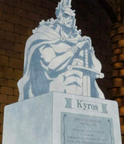 Kyros Statue