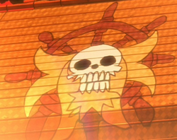 Golden Lion Pirates' Jolly Roger