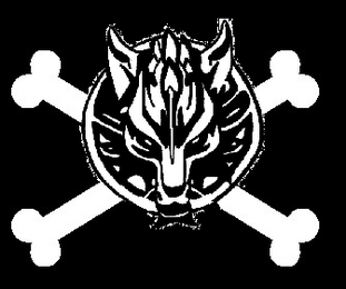 Wolf jolly roger