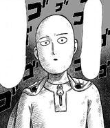 Saitama gets serious