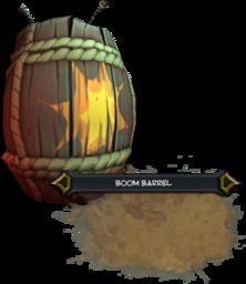 Boom Barrel Render