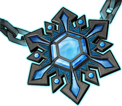 Weapon Ice Amulet