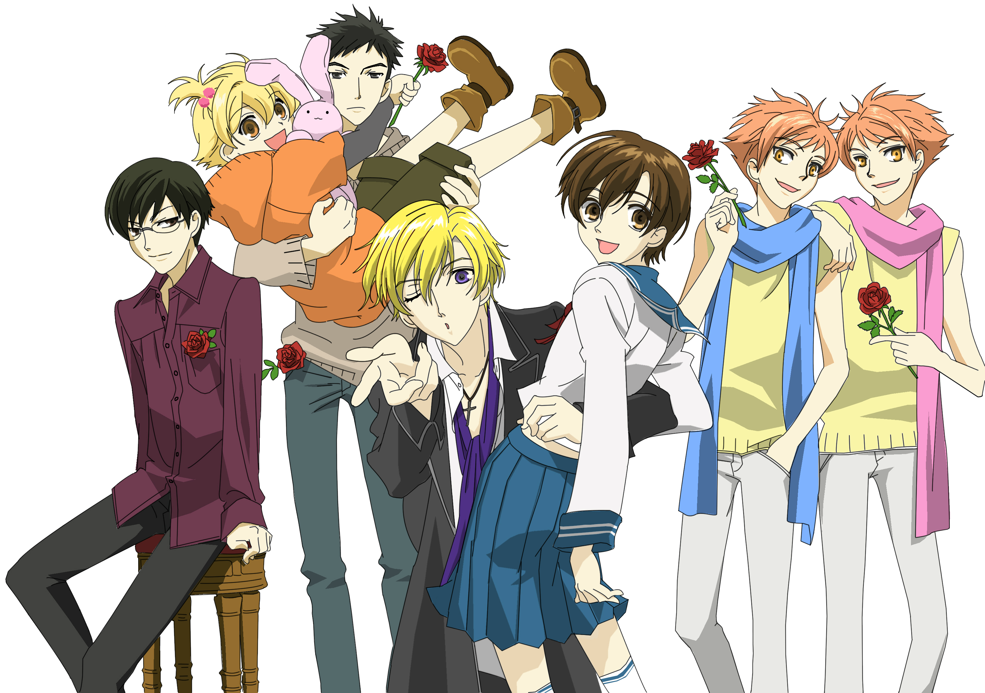 Ouran Highschool Host Club Crest the Ouran High School Host