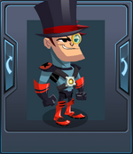 Armor - Top Hat Helmet