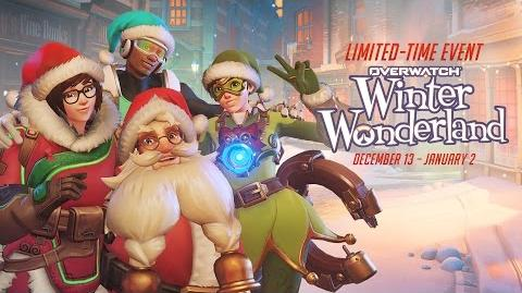 NEW SEASONAL EVENT Welcome to Overwatch's Winter Wonderland!