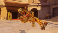 Junkrat irradiated golden fraglauncher