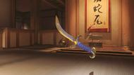 Genji bedouin golden wakizashi