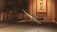 Genji ochre wakizashi