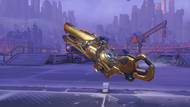 Zarya dawn golden particlecannon
