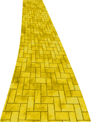 File:Yellow brick road png clipart by clipartcotttage-d7cl1mh.png
