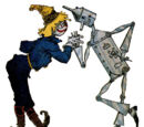 The Scarecrow and the Tin Woodman