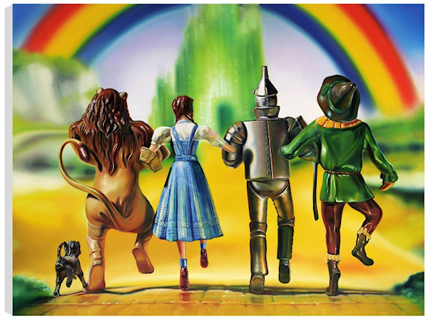 Image result for we're off to see the wizard