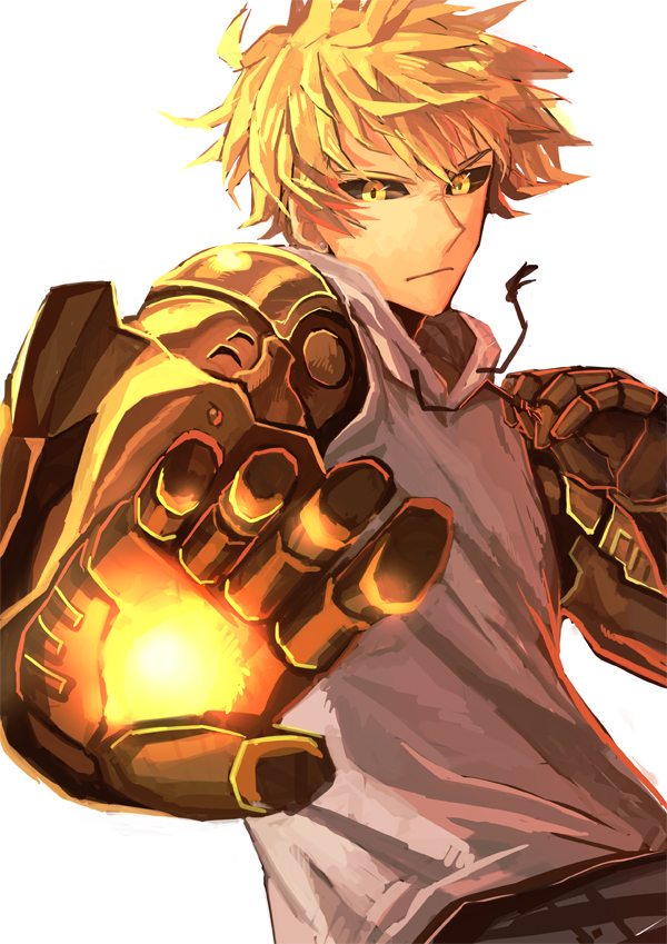one punch man genos - photo #2