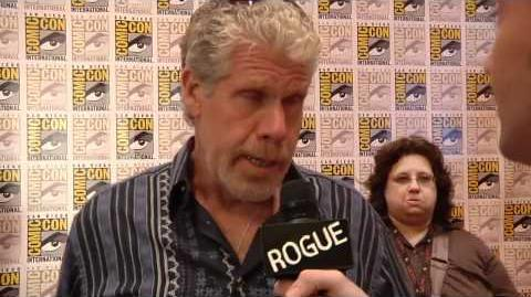 SDCC 2011 EXCLUSIVE VIDEO Ron Perlman talks 'Conan the Barbarian' and 'Pacific Rim'