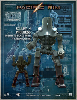 pacific rim cherno alpha drawing  Cherno Alpha (18 Inch Ser...