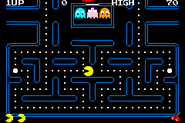 Pac-Man Collection - Pac-Man (GBA) (scroll) (NO$GBA v2.8d)